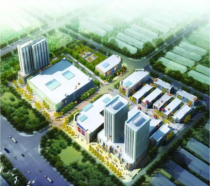 Hebei cangzhou: big international square